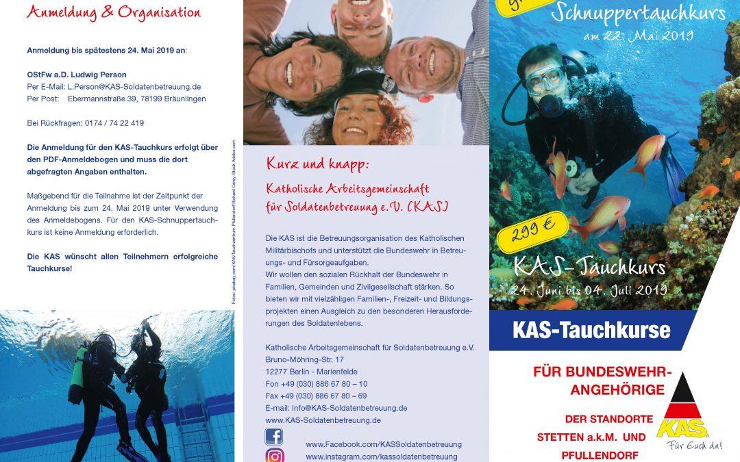 Abtauchen und die Unterwasserwelt genießen! – KAS-Tauchkurse für Bundeswehrangehörige