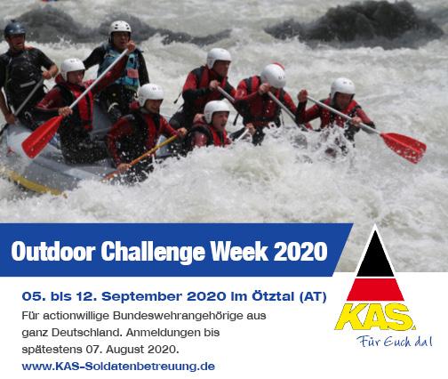 Action bis zum Adrenalinkick – Bei der Outdoor-Challenge-Week 2020