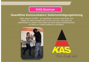 """KAS-Seminar """"Gewaltfreie Kommunikation Selbstverteidigungstraining"""""""