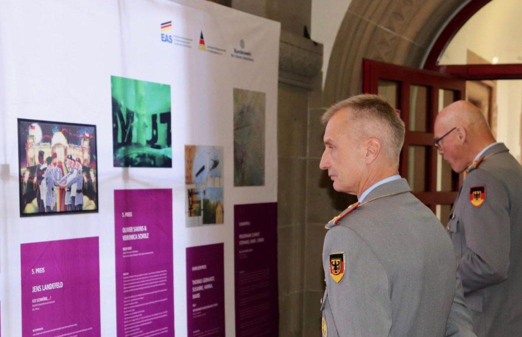 Kunstwettbewerb der Bundeswehr – Ausstellung eröffnet und Thema vorgestellt