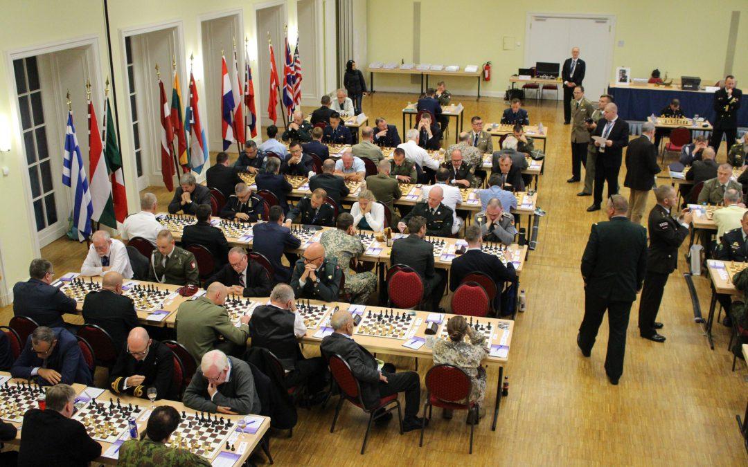 Ein ganz besonderer Sieg für die deutsche Mannschaft bei der 30. NATO-Schachmeisterschaft in Berlin