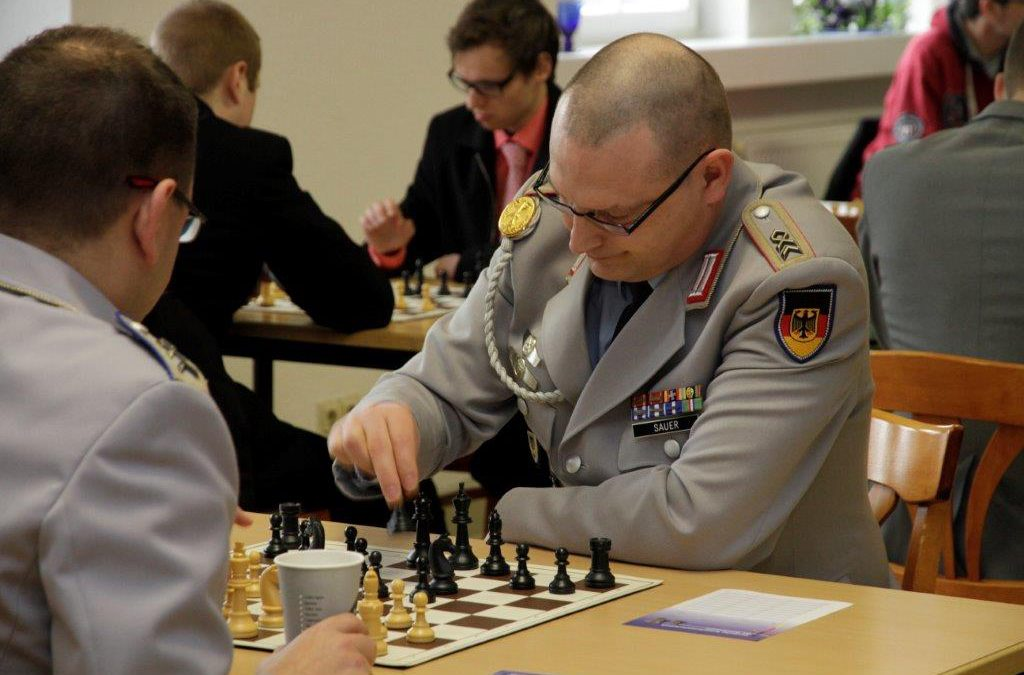 NATO-Schachmeisterschaft 2018:  Spieler für das Team der Bundeswehr gesucht!