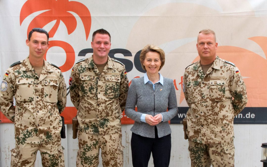 Ministerin besucht OASE im Irak