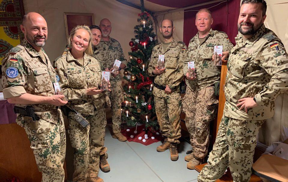 Weihnachtsengel-Aktion für Soldatinnen und Soldaten in den Einsatzländern der Bundeswehr