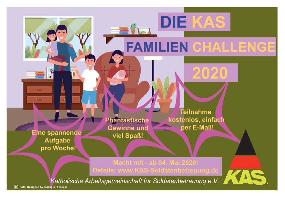 Die KAS Familien Challenge 2020 für Bundeswehrfamilien – Jetzt kostenfrei mitmachen!