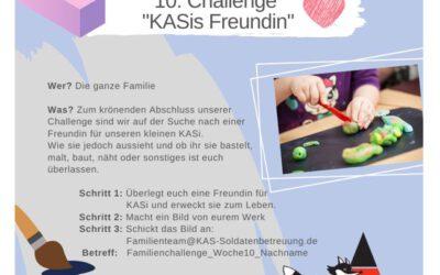 """KAS Familien Challenge 2020 für Bundeswehrfamilien – Die 10. Challenge: """"KASis Freundin"""""""