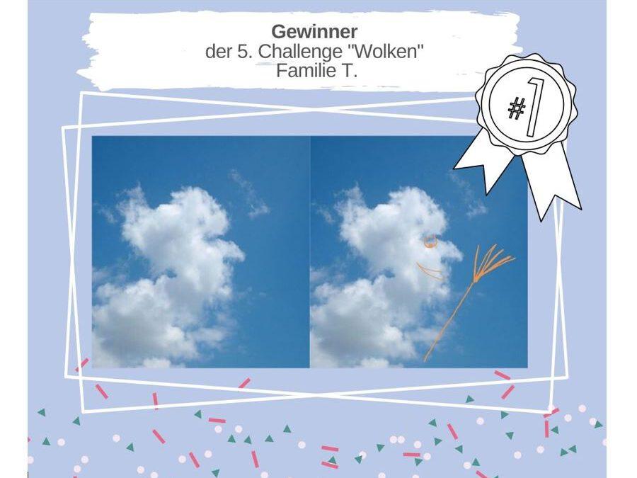 """KAS Familien Challenge 2020: Die Sieger der 5. Challenge """"Wolken"""" stehen fest!"""
