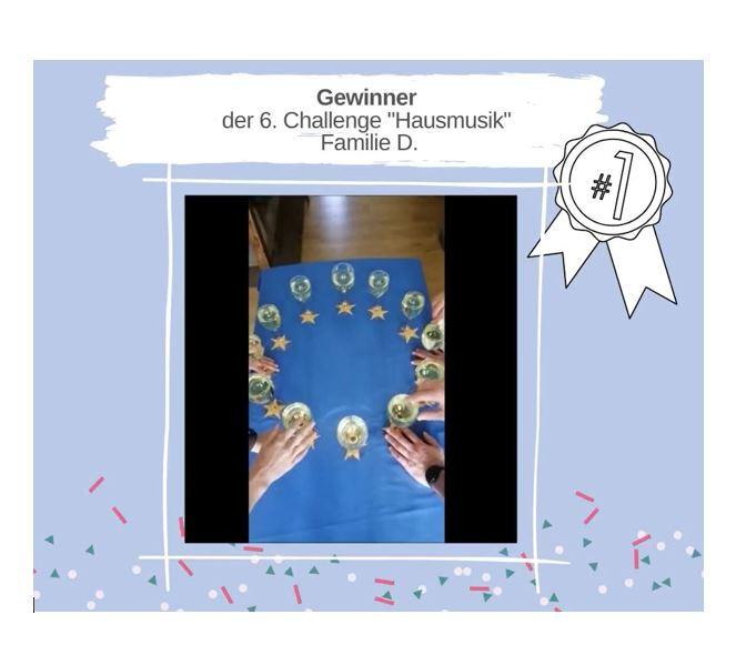 """KAS Familien Challenge 2020: Die Sieger der 6. Challenge """"Hausmusik"""" stehen fest!"""