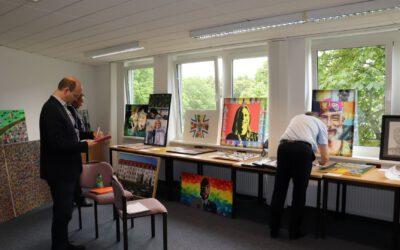 Gelebte Vielfalt als Einheit – Der Kunstwettbewerb der Bundeswehr zeigt Diversität