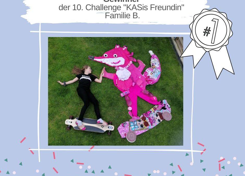 """KAS Familien Challenge 2020: Die Sieger der 10. Challenge """"KASis Freundin"""" stehen fest!"""