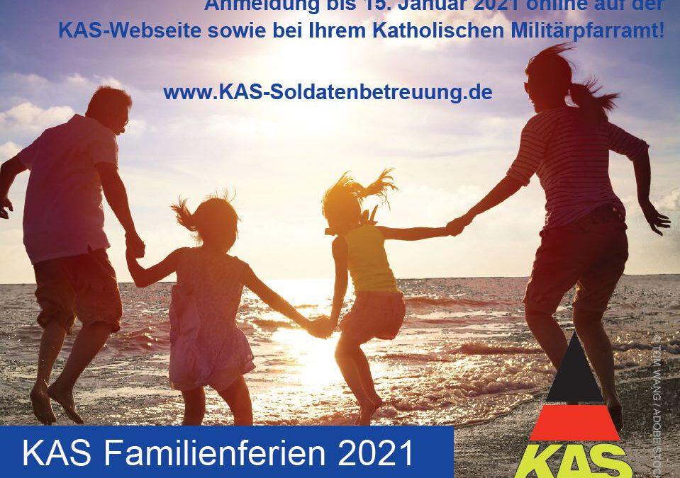 Erstmals in 2021: KAS Erlebniscamp für Familien im Rahmen der Familienferien