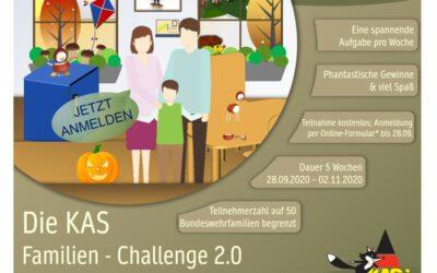 Die KAS Familien Challenge 2.0 für Bundeswehrfamilien – Jetzt kostenfrei mitmachen!