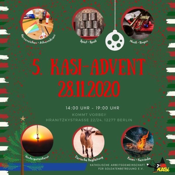 Bald ist es soweit! – KASi-Fuchs lädt Euch zum 5. KASi-Advent ein