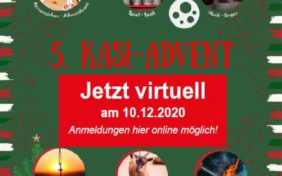 5. KASi-Adventszauber bei der KAS: Wir feiern mit Euch – jetzt virtuell am 10. Dezember!