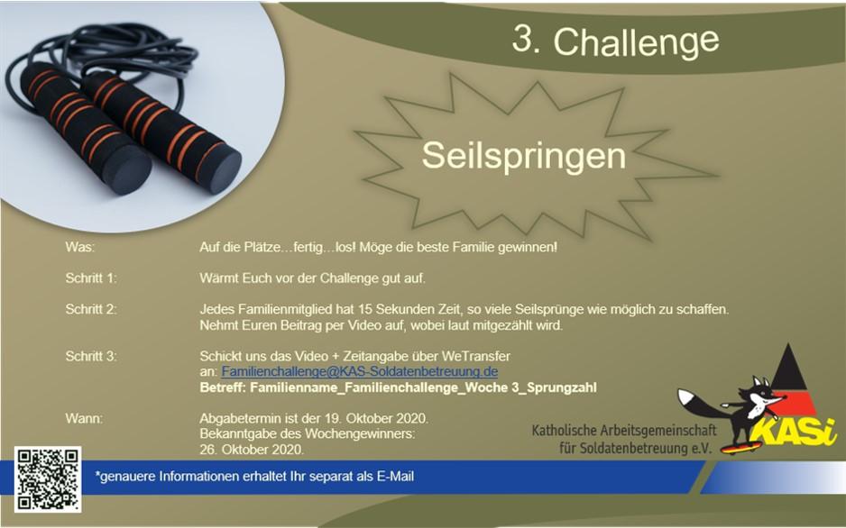 Familien-Challenge 2.0 – Die dritte Wochenaufgabe