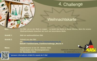 Familien-Challenge 2.0 – Die vierte Wochenaufgabe