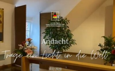 "Virtuelle Adventsandacht ""Trage ein Licht in die Welt"""