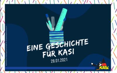 Kreativwettbewerb – Eine Geschichte für KASi