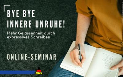 Bye Bye innere Unruhe!