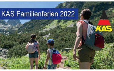 Das ganze Jahr über Urlaubsangebote für Soldatenfamilien – Jetzt für die KAS-Familienferien 2022 anmelden!
